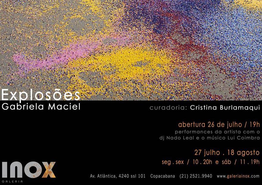 Gabriela Maciel | Explosões | 26 de Julho