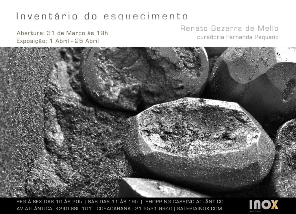 Renato Bezerra de Mello | Inventário do Esquecimento | 31 de Março