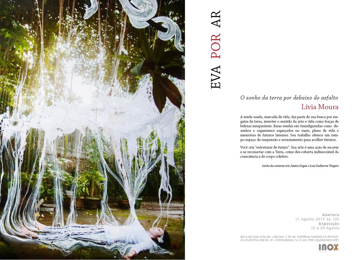 Lívia Moura | Eva Por Ar | 11 de Agosto